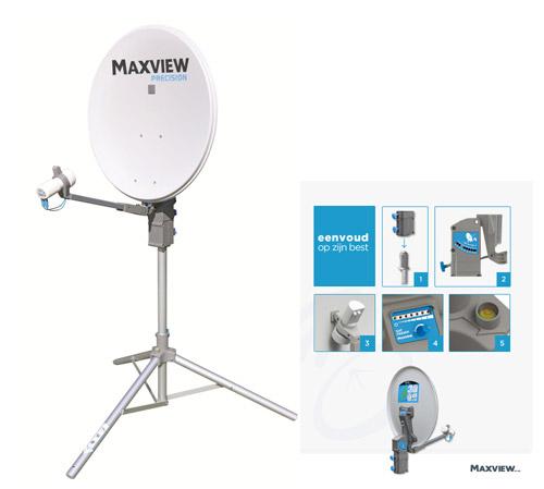 caravans campers accessoires satelliet schotel